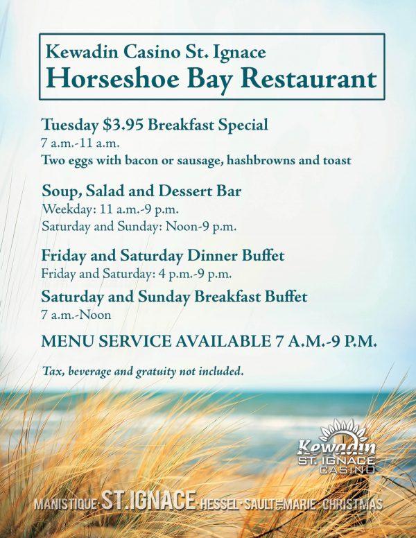 Horseshoe Bay Restaurant Specials