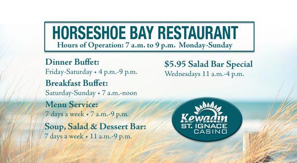 Horseshoe Bay Restaurant Hours